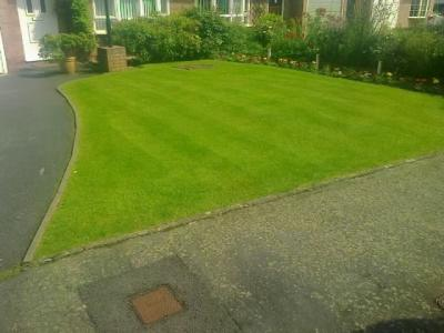 Abergavenny Customers Lawn