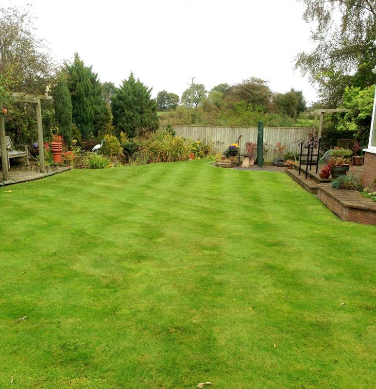 Greenthumb oswestry your local lawn care specialists for Local garden maintenance