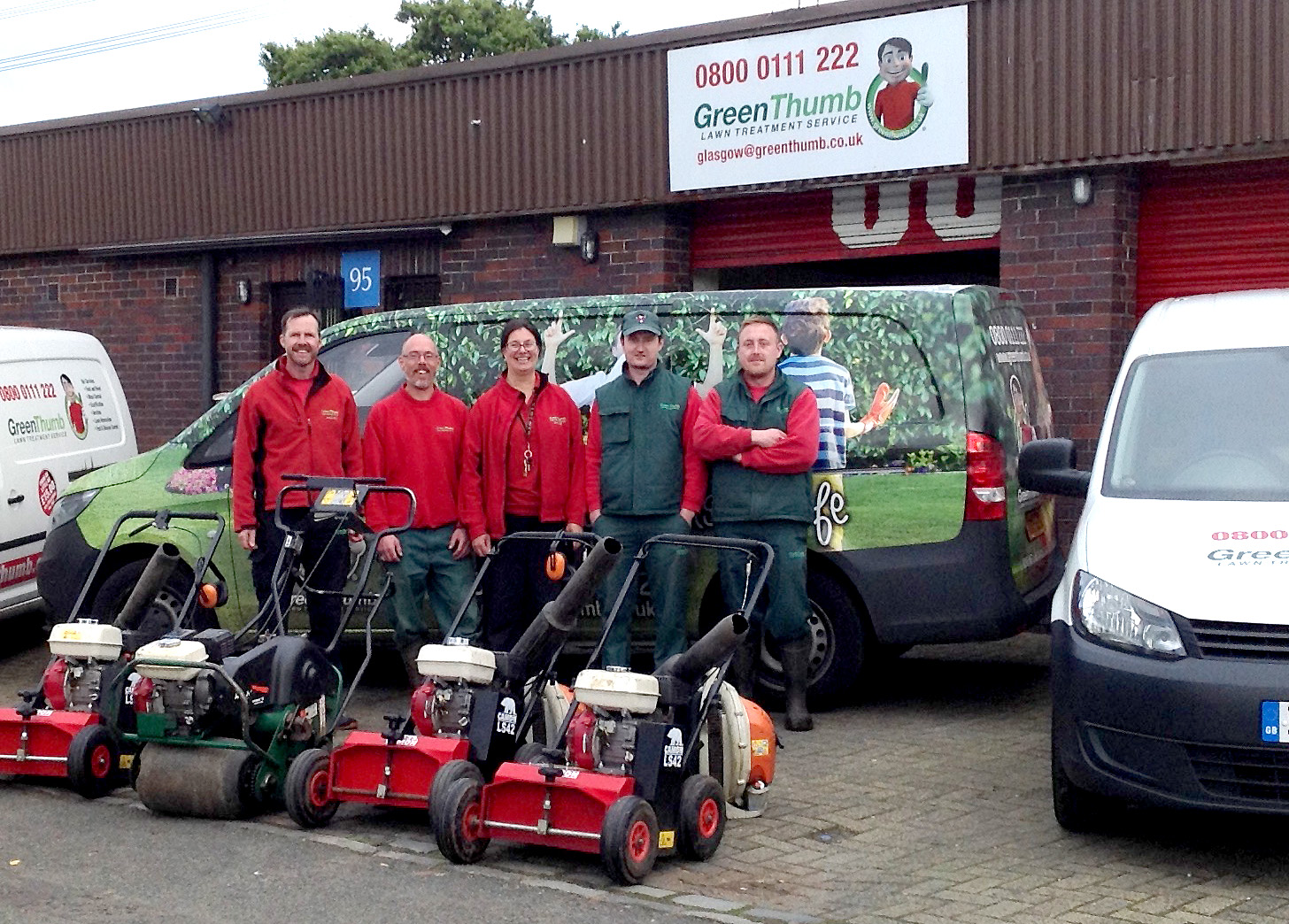 Greenthumb Glasgow Your Local Lawn Care Specialists